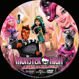 Monster High: Frights, Camera, Action! DVD